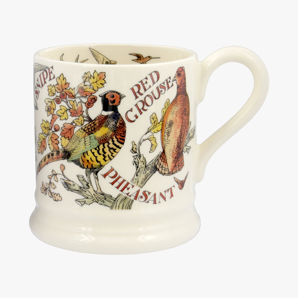 Seconds Game Birds Red Grouse 1/2 Pint Mug