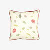 Green Egg & Feather Cushion