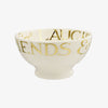 Gold Toast & Marmalade Friends & Family French Bowl