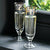 Gold Toast Set Of 2 Glass Flutes