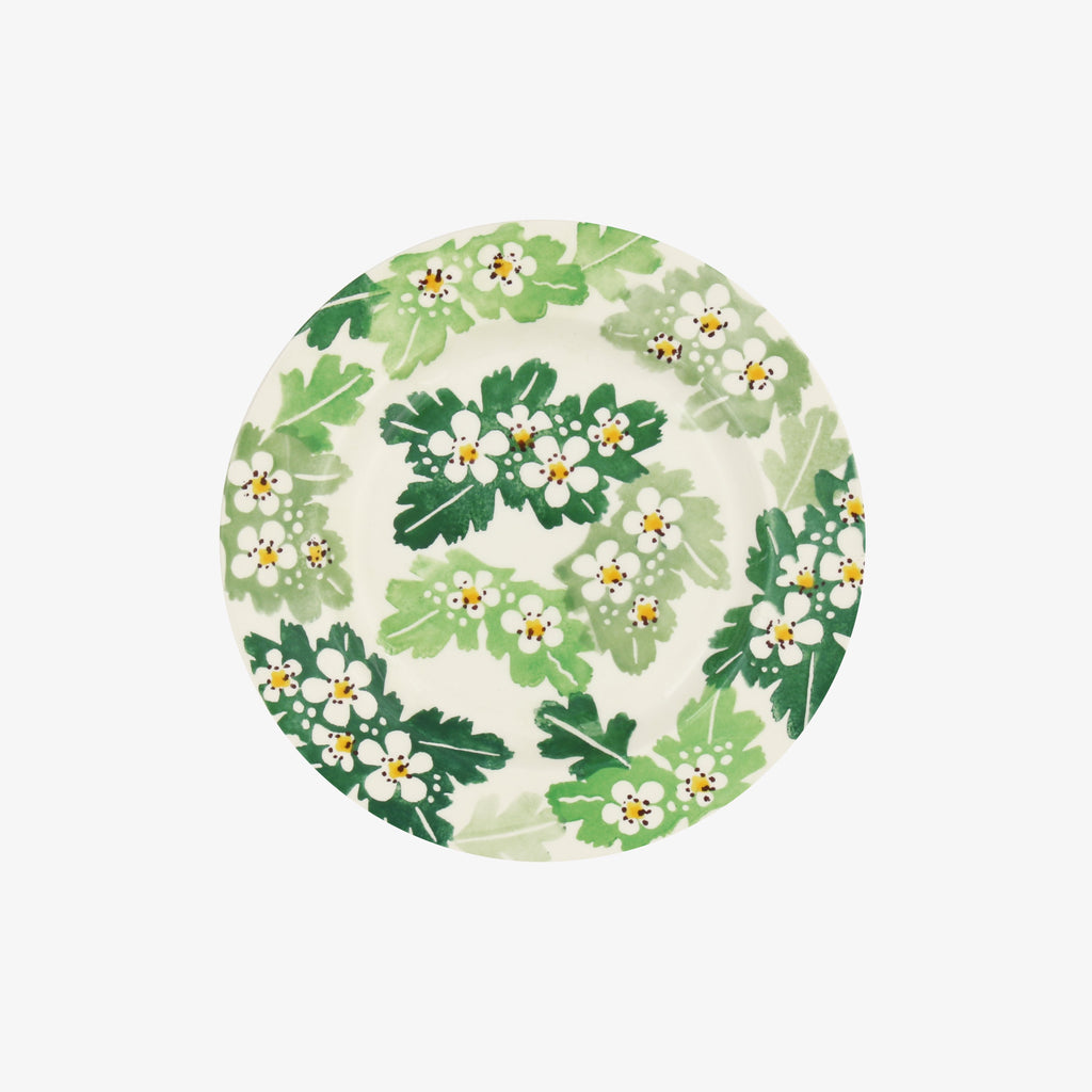 Seconds Green Hawthorn 6 1/2 Inch Plate