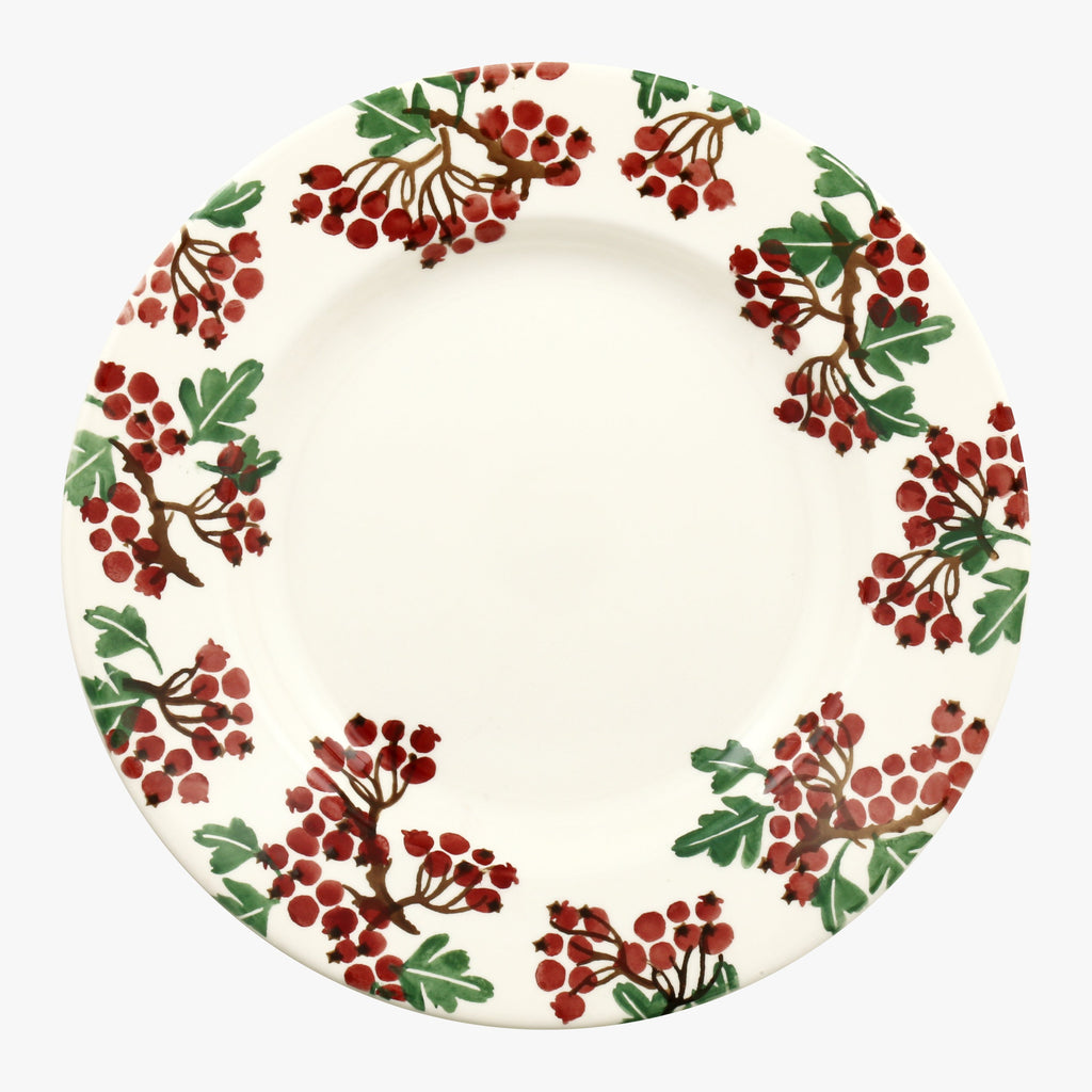 Hawthorn Berries 10 1/2 Inch Plate