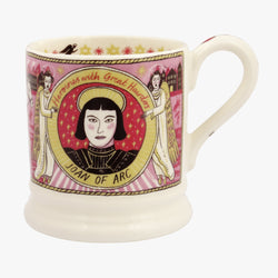 Joan of Arc 1/2 PInt Mug