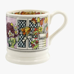 Flowers & Vases 1/2 Pint Mug