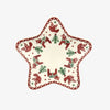 Christmas Joy Small Star Plate