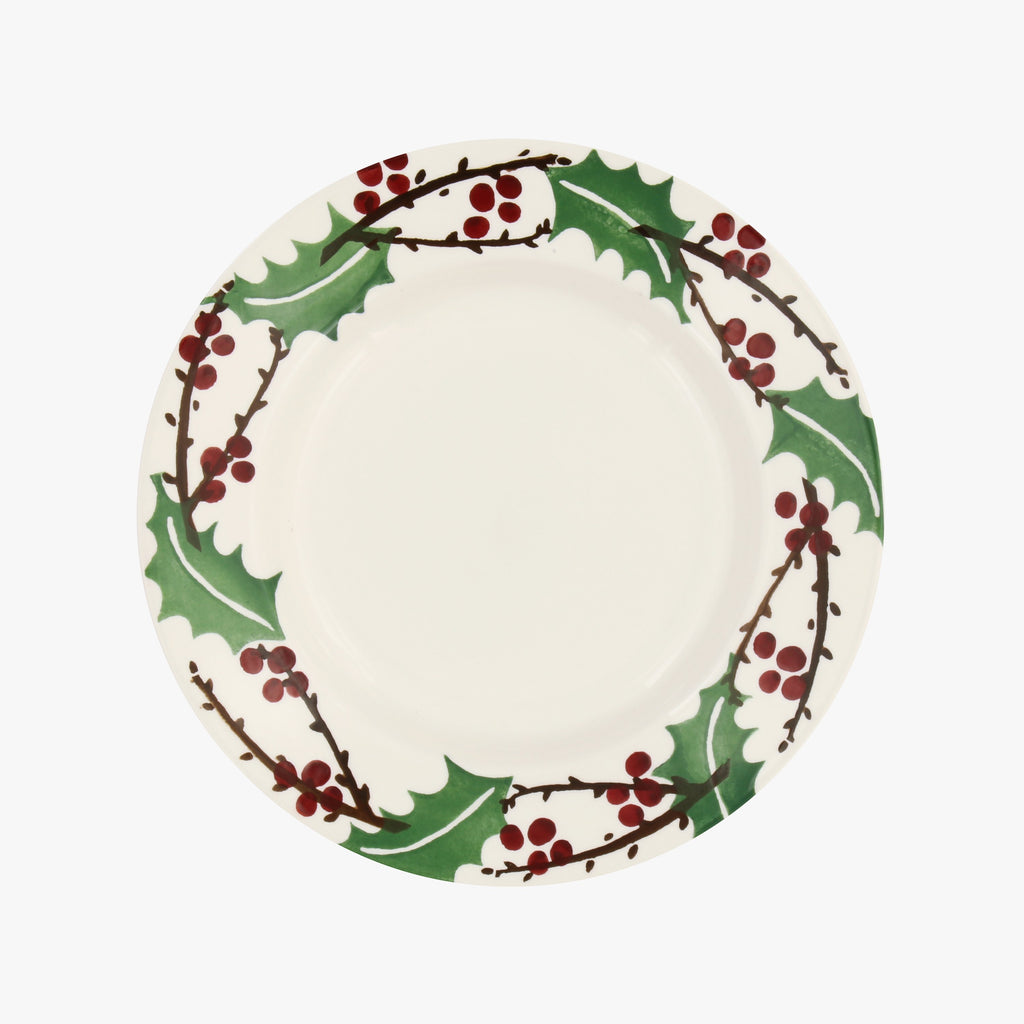"Seconds Winterberry 8 1/2"" Plate"