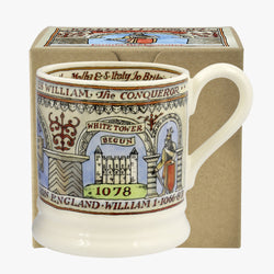William the Conqueror 1/2 Pint Mug Boxed