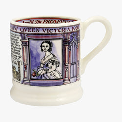 Seconds Queen Victoria 1/2 Pint Mug