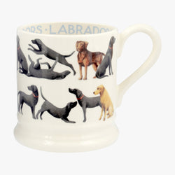 All Over Labador 1/2 Pint Mug