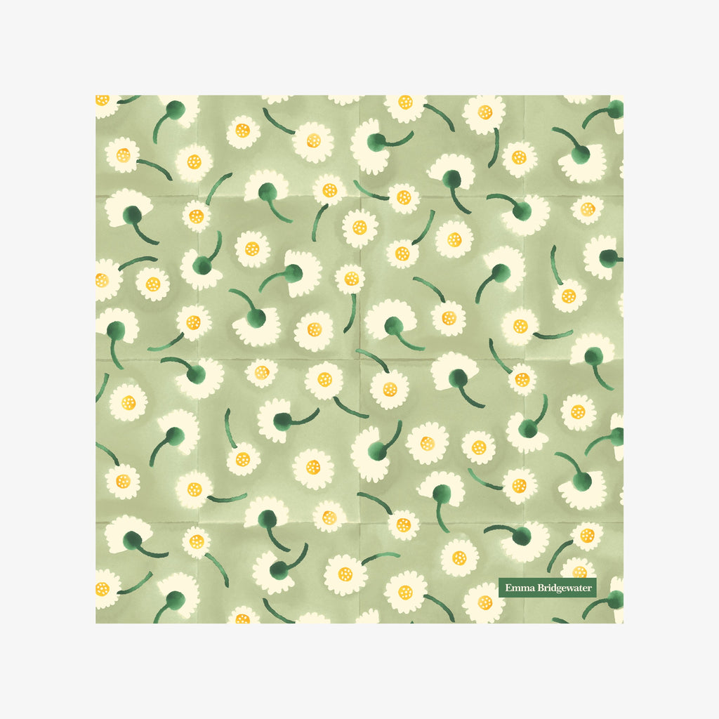 Daisy Light Green Cocktail Napkins