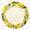 Vegetable Garden Lemons 10 1/2 Inch Plate