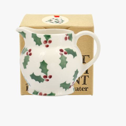 Little Holly Tiny Jug Decoration Boxed
