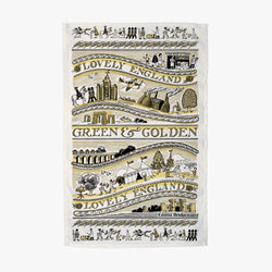 Lovely England Tea Towel