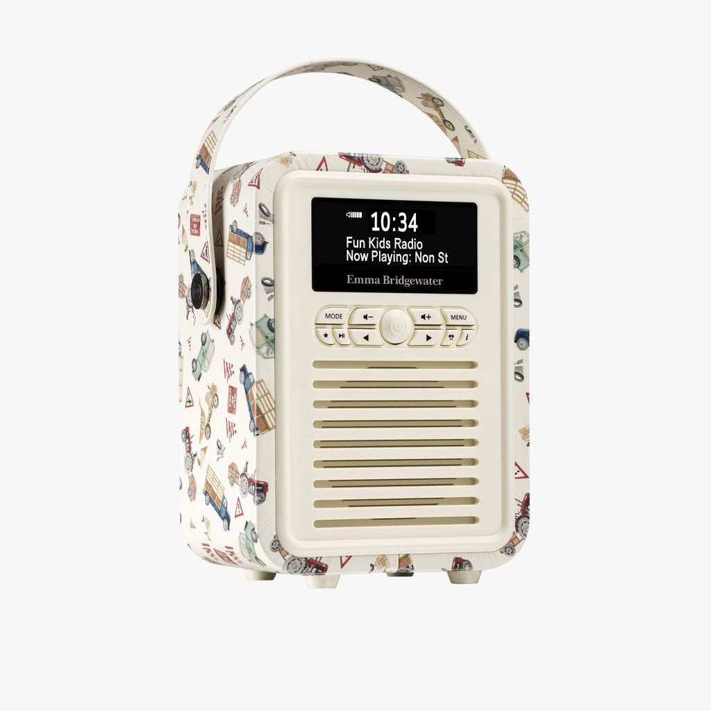 Men at Work Mini Retro Radio