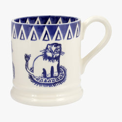 Mary Fedden Lions 1/2 Pint Mug