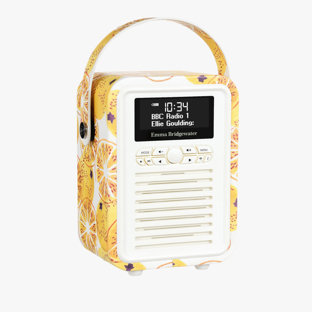Marmalade Mini Bluetooth Retro Radio