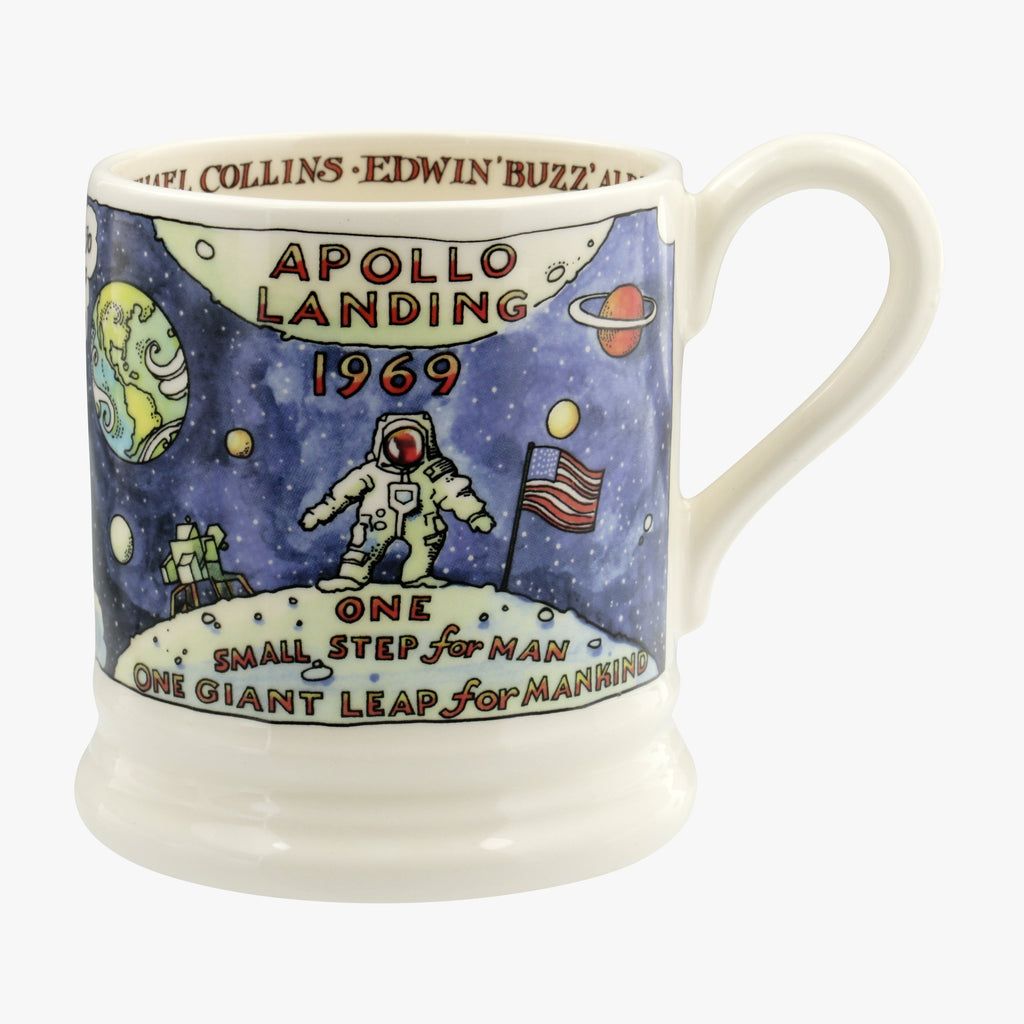 Seconds Moon Landing 1/2 Pint Mug