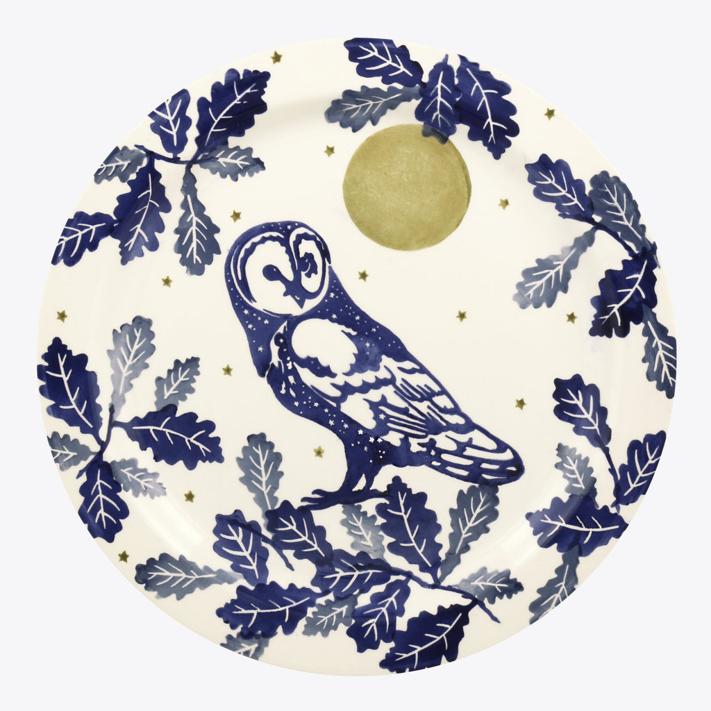 Seconds Midnight Owl Serving Plate