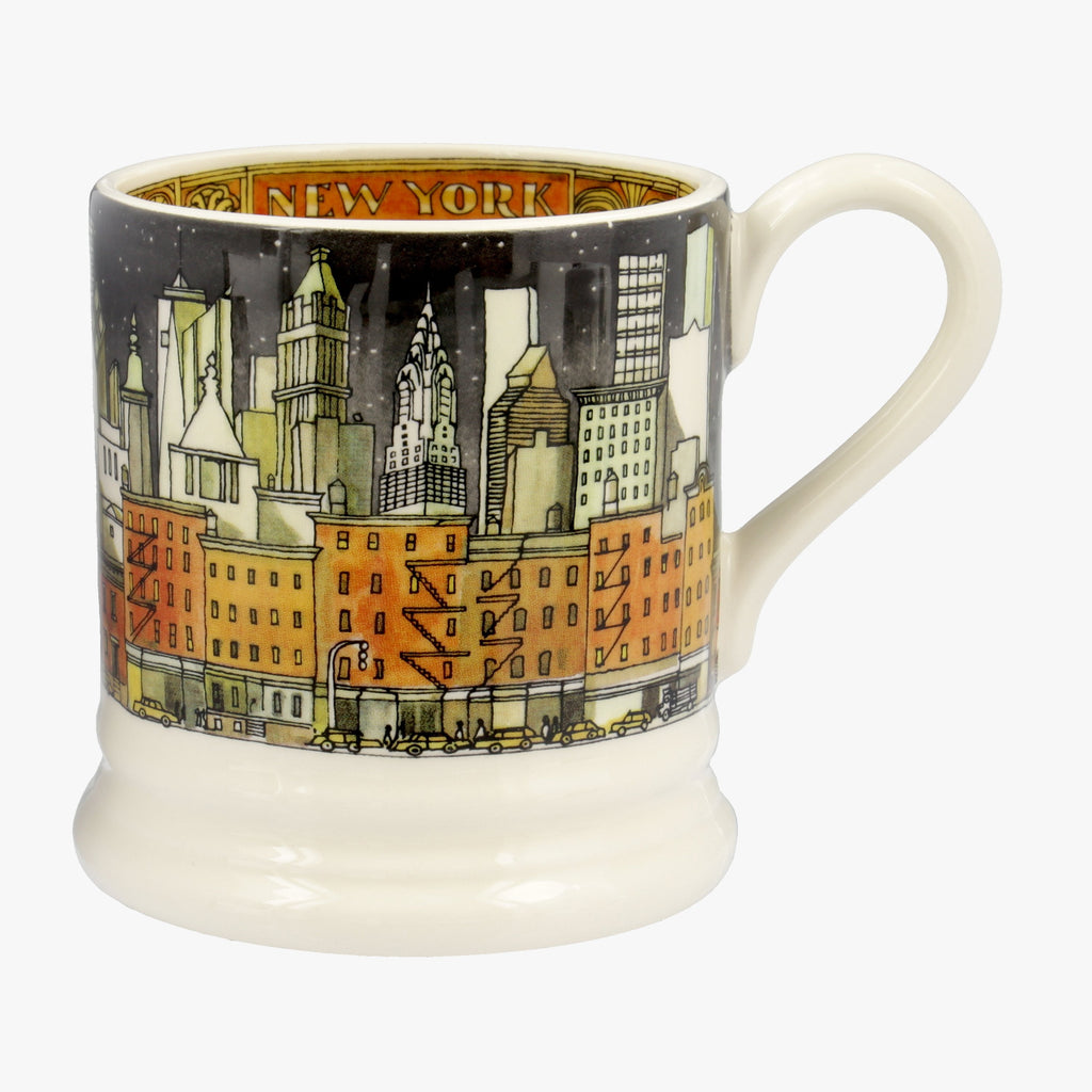 Seconds Cities Of Dreams New York 1/2 Pint Mug