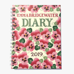 Pink Pansy 2019 A5 Diary