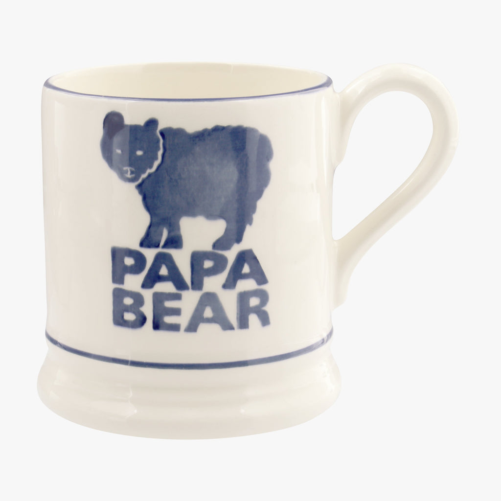 Bright Mugs Papa Bear 1/2 Pint Mug