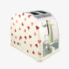 Pink Hearts Norfolk Two Slice Toaster