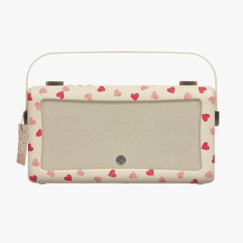 Pink Hearts Hepburn MKII Bluetooth Radio