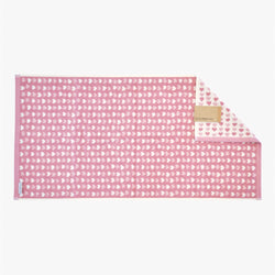 Pink Hearts Hand Towel