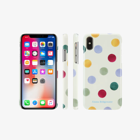 Polka Dot Phone Case for iPhone X / XS
