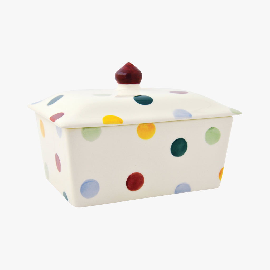 Polka Dot Small Butter Dish