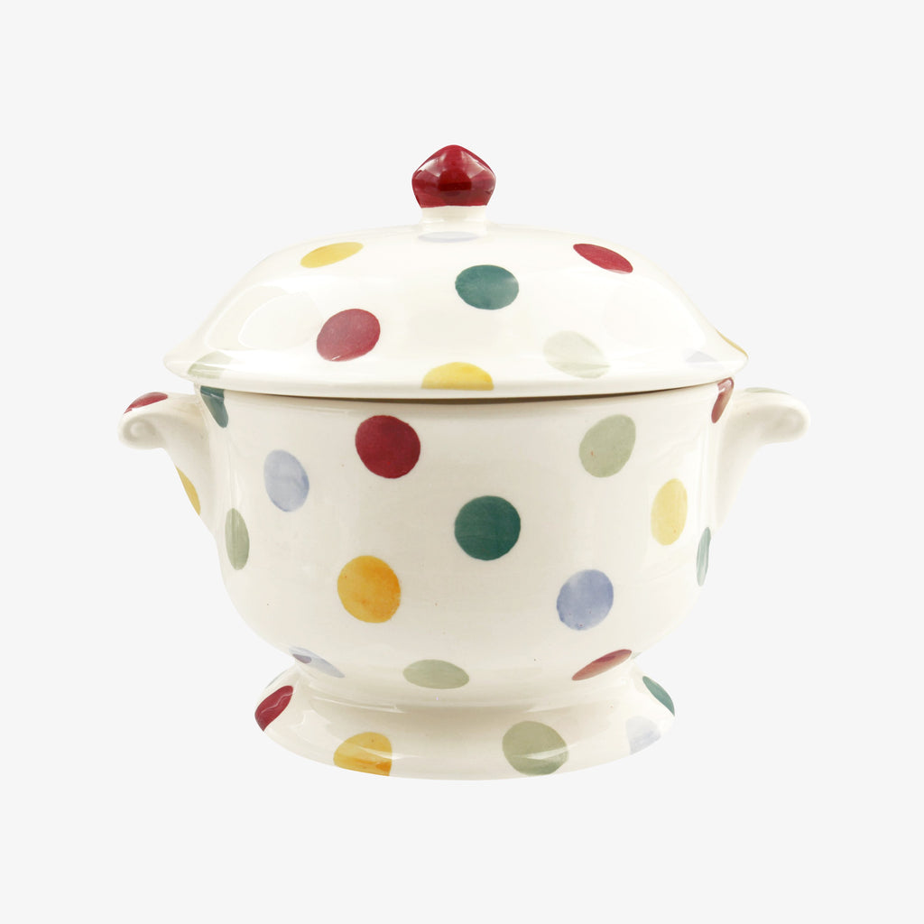 Seconds Polka Dot Small Tureen