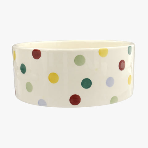Polka Dot Large pet bowl