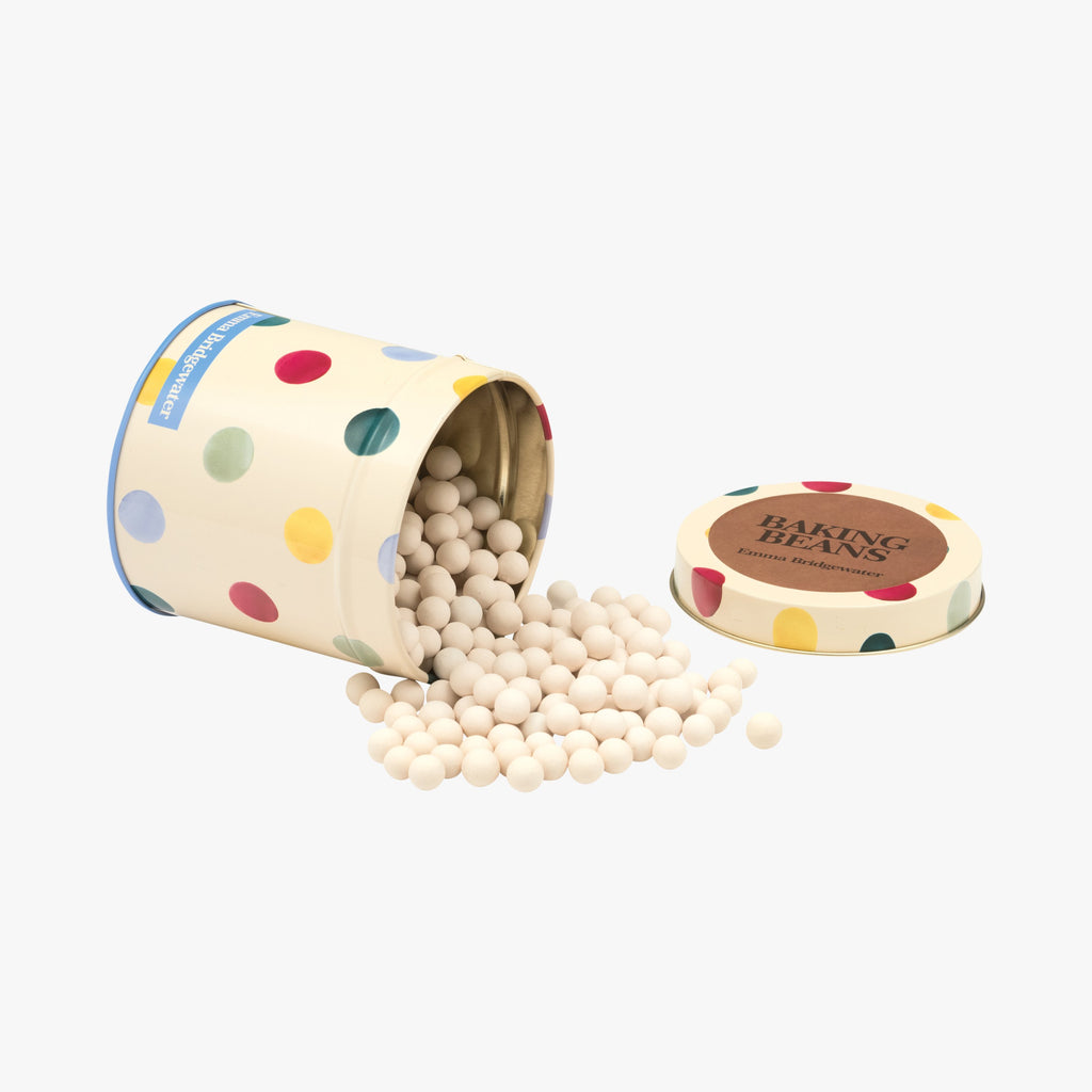 Polka Dot Baking Beads in Tin