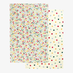 Polka Dot Set of 2 Tea Towels