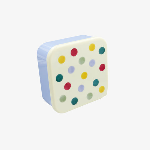 Polka Dot Set of 4 Snack boxes