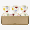 Polka Dot Set Of 3 Egg Cups Boxed