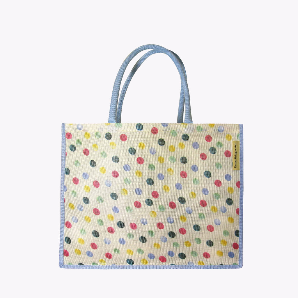 Polka Dot RPET Shopper Bag