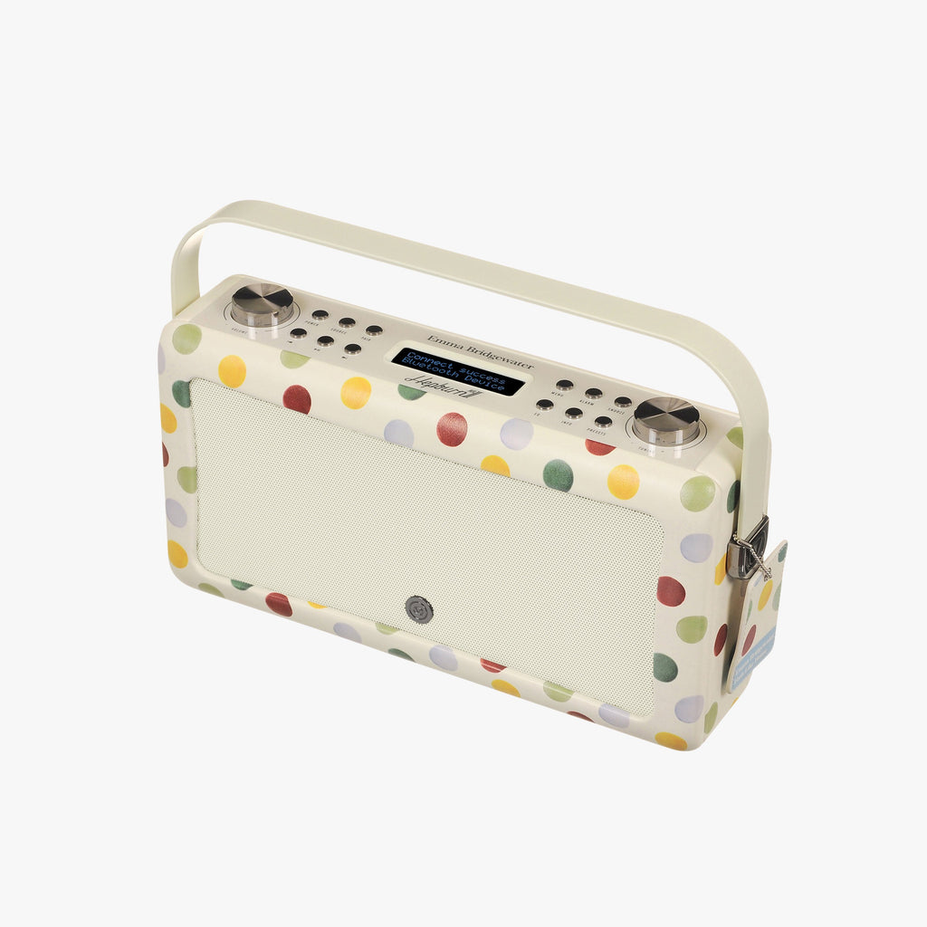 Polka Dot Hepburn MKII Bluetooth Radio