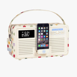 Polka Dot Retro Radio MKII DAB & Bluetooth