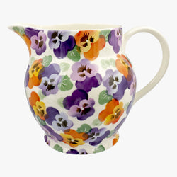 Purple Pansy 6 Pint Jug