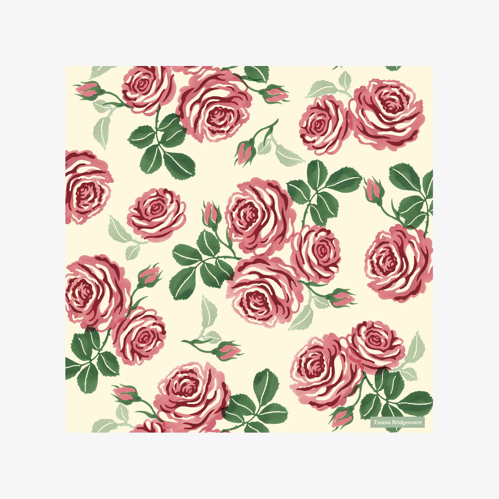 Pink Roses Lunch Napkins