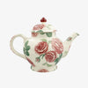 Seconds Pink Roses 4 Mug Teapot