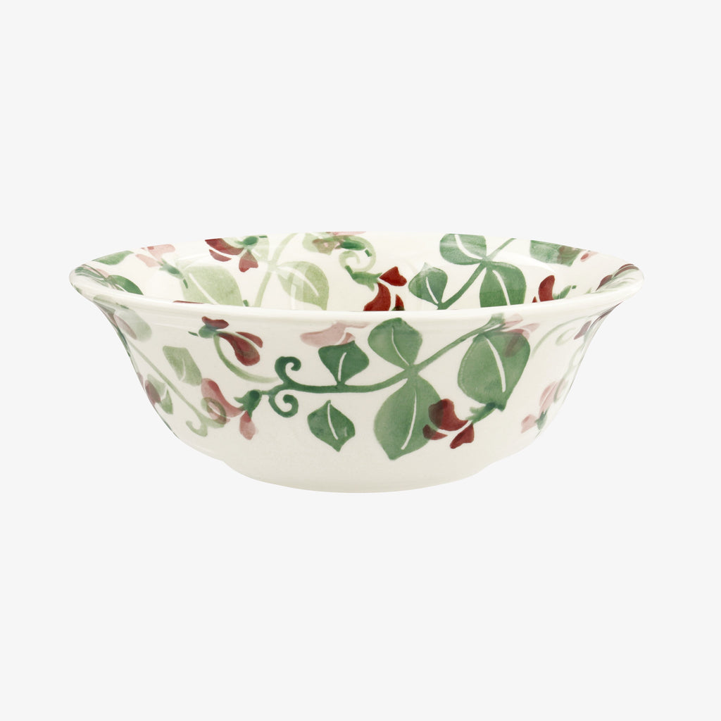 Seconds Pale Sweet Pea Cereal Bowl