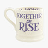 Seconds Purple Toast Sisters Stand Together 1/2 Pint Mug