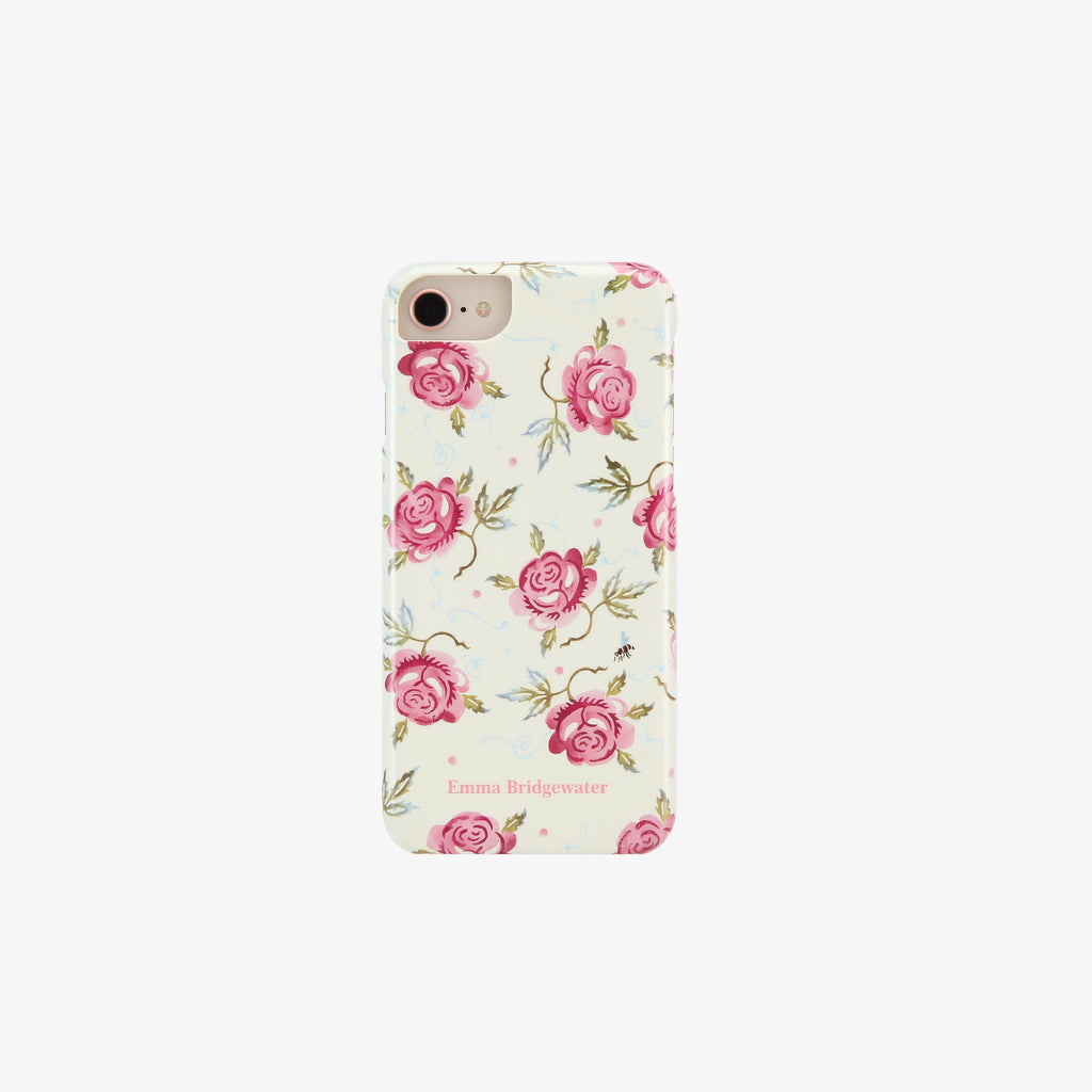 Emma Bridgewater Rose and Bee Phone Case for iPhone 6, 6S, 7, and 8 -  a cute and stylish protective iphone case with pink roses - a classic Emma Bridgewater design