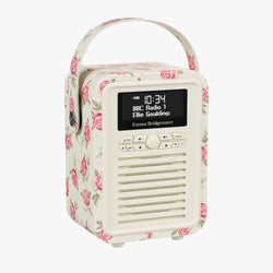 Rose & Bee Mini Retro Bluetooth Radio