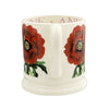 Flowers Red Anemone 1/2 Pint Mug