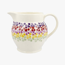 Rainbow Dots 1 1/2 Pint Jug