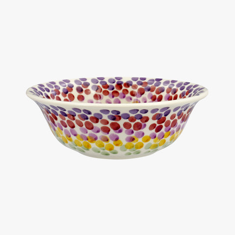Rainbow Dots Cereal Bowl