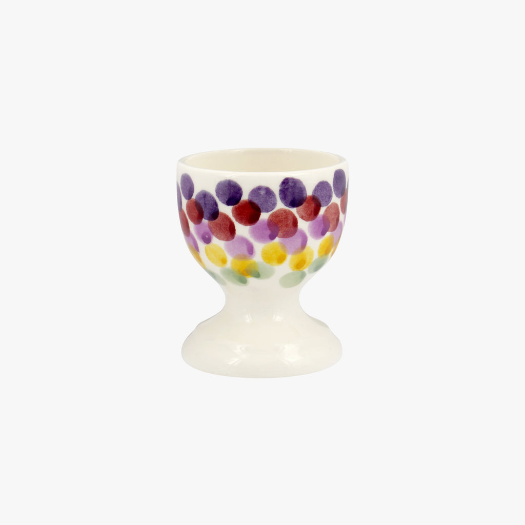 Rainbow Dots Egg Cup